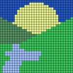 Alpha pattern #53045