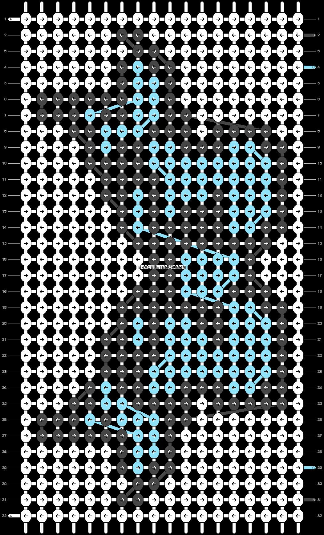 Alpha pattern #53057 pattern