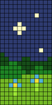 Alpha pattern #53079