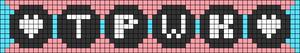 Alpha pattern #53082