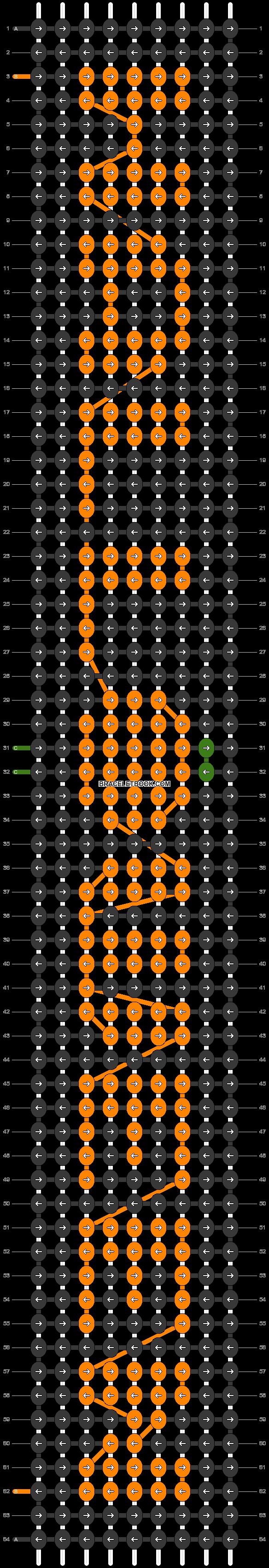 Alpha pattern #53110 pattern