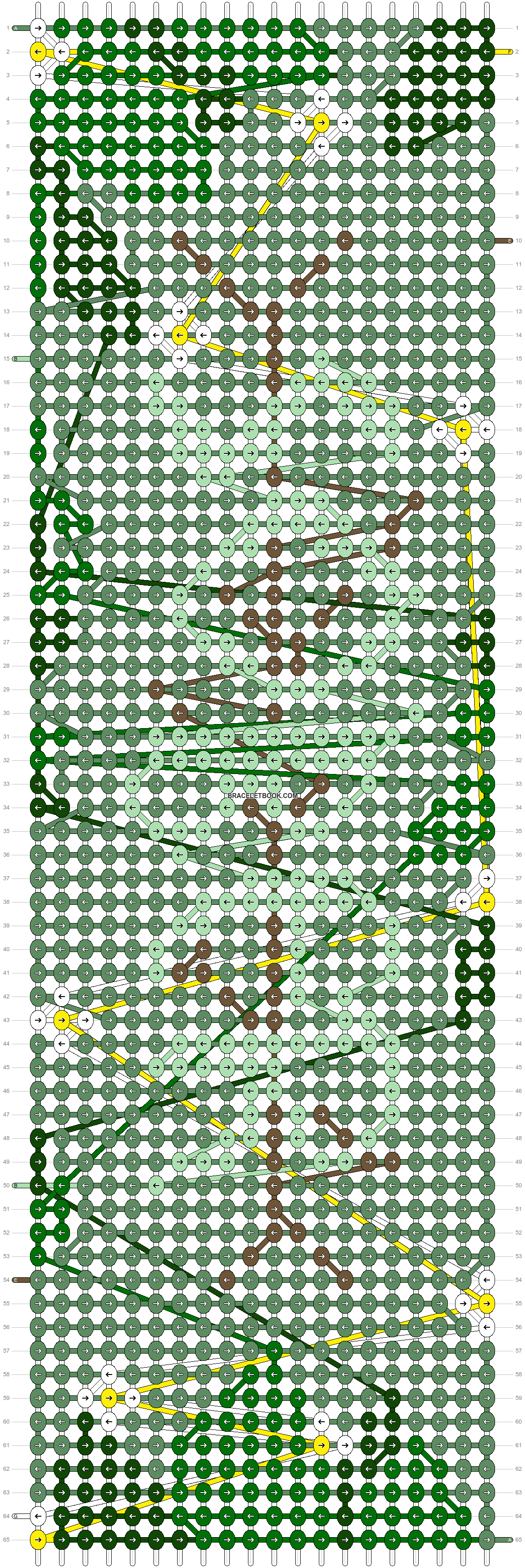 Alpha pattern #53114 pattern