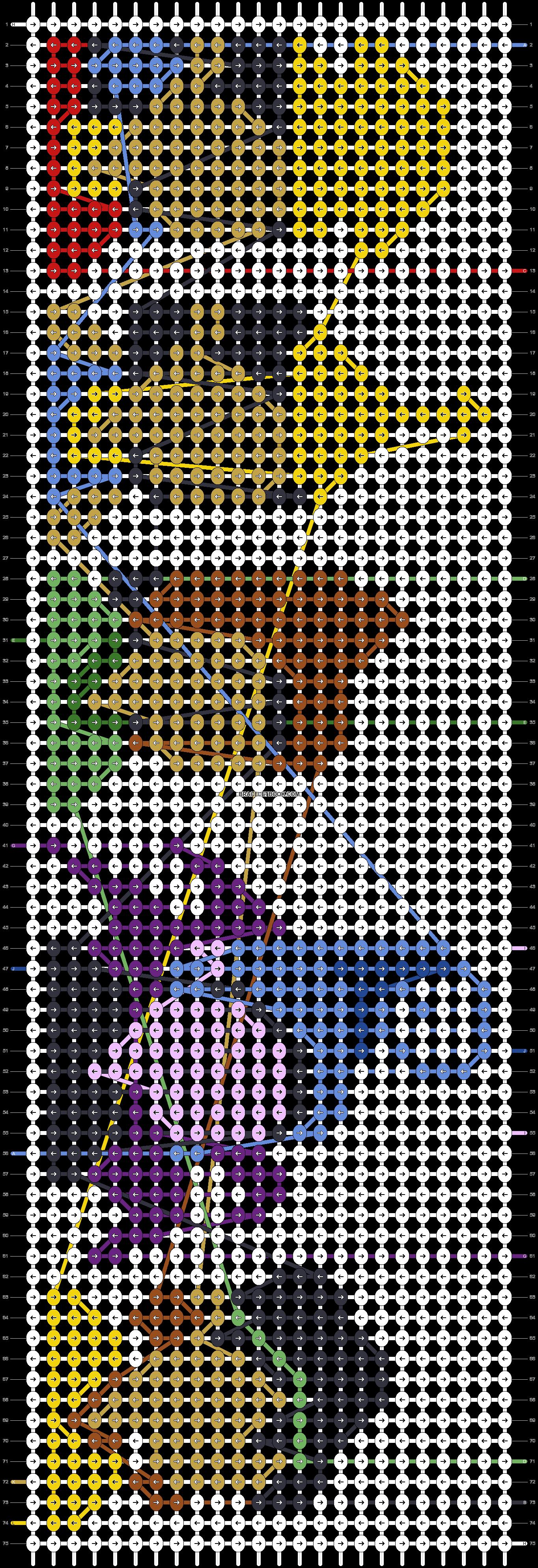 Alpha pattern #53117 pattern