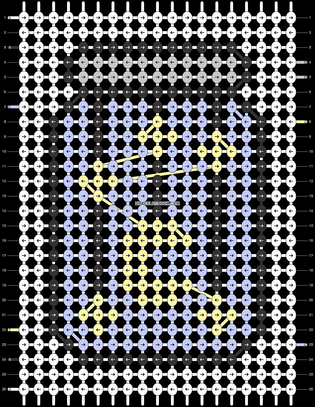 Alpha pattern #53119 pattern
