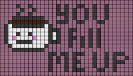 Alpha pattern #53135