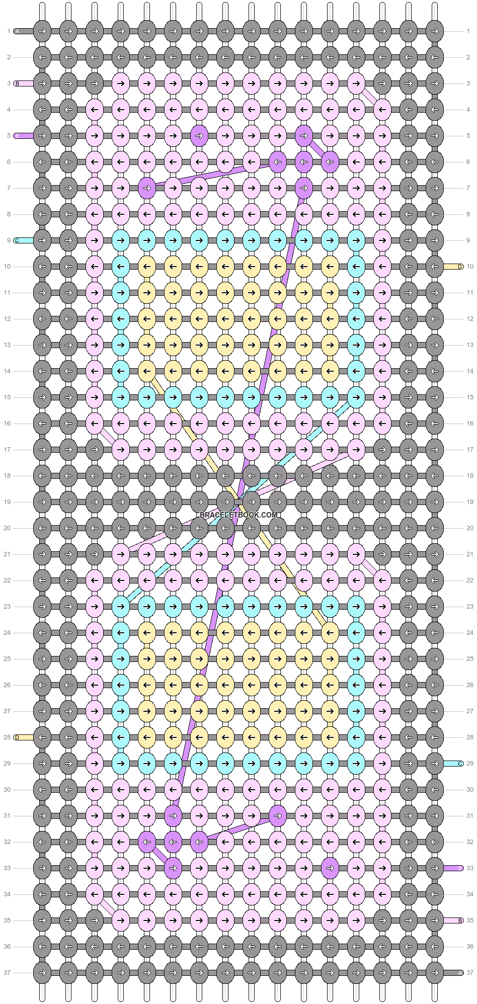 Alpha pattern #53142 pattern