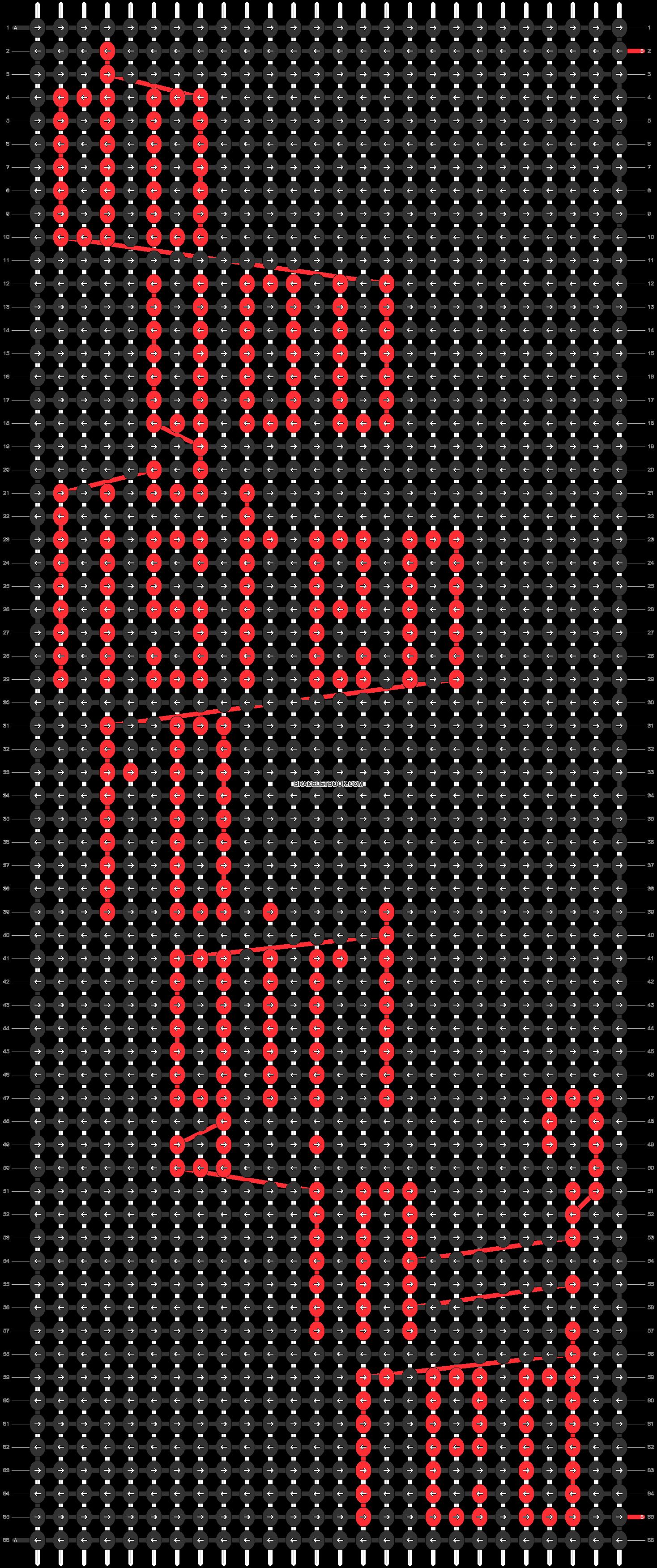 Alpha pattern #53161 pattern