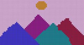 Alpha pattern #53185