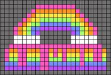 Alpha pattern #53206