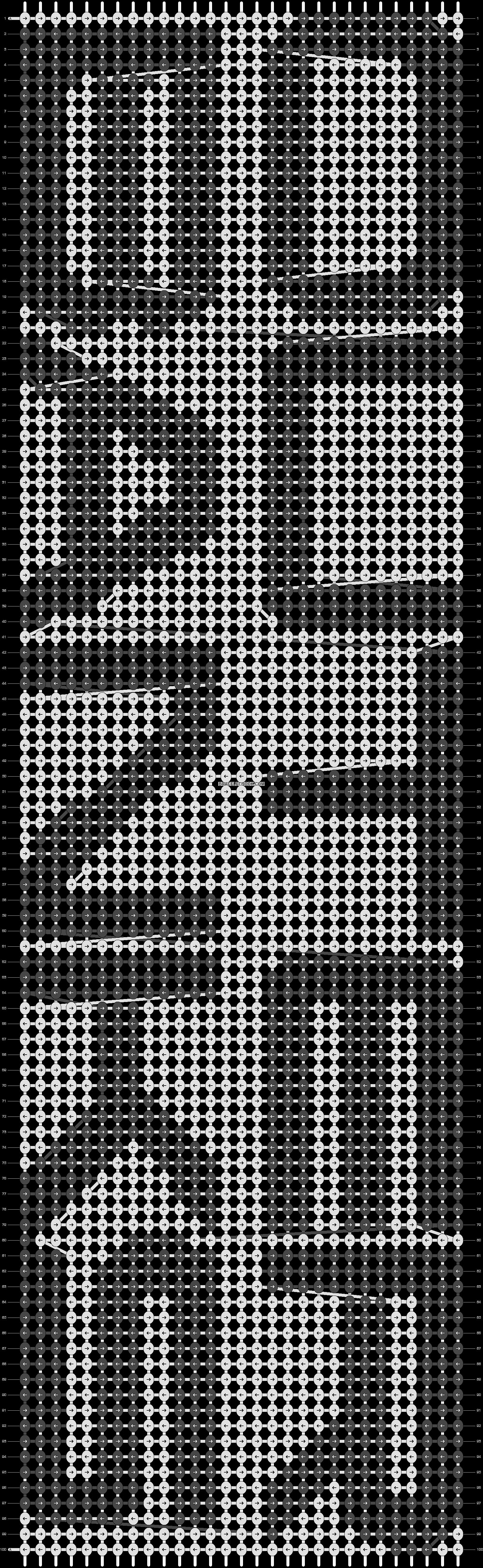 Alpha pattern #53232 pattern