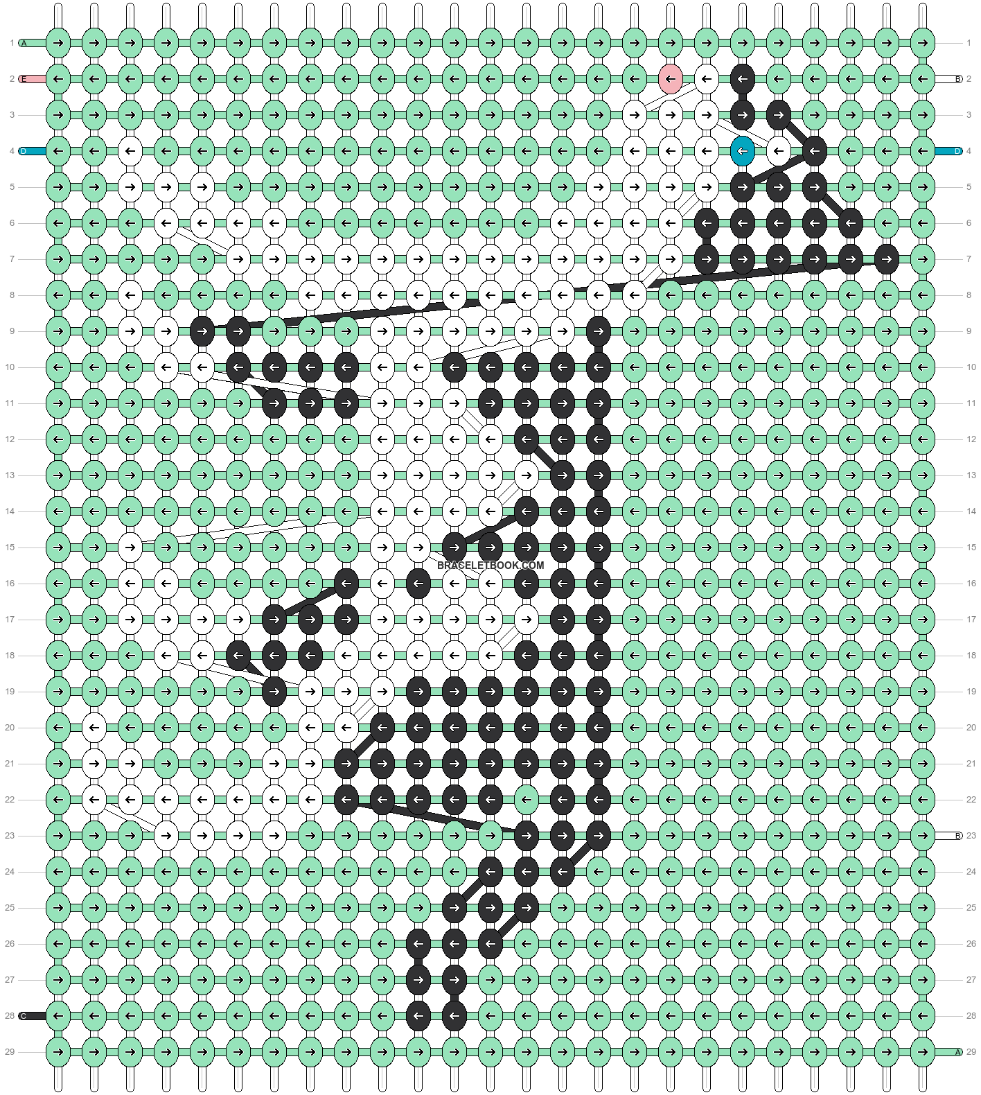 Alpha pattern #53234 pattern
