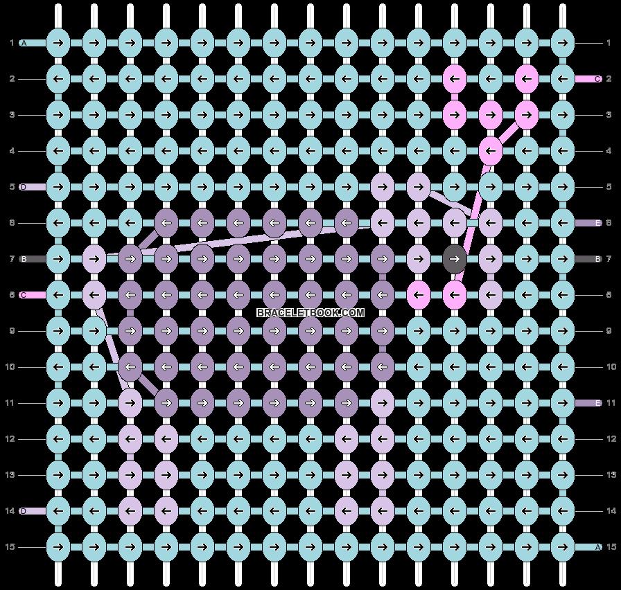 Alpha pattern #53239 pattern