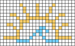 Alpha pattern #53245
