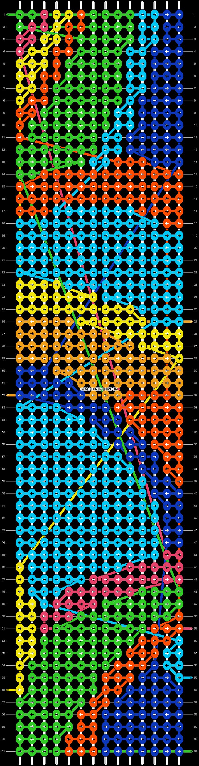 Alpha pattern #53266 pattern