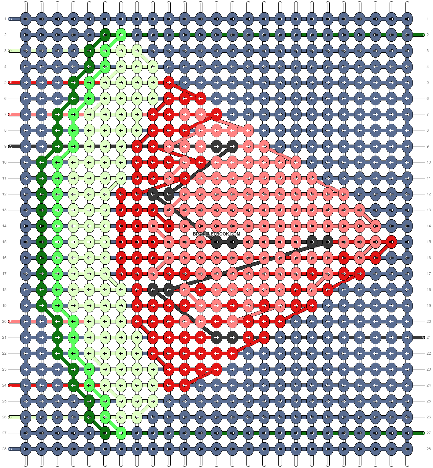 Alpha pattern #53296 pattern