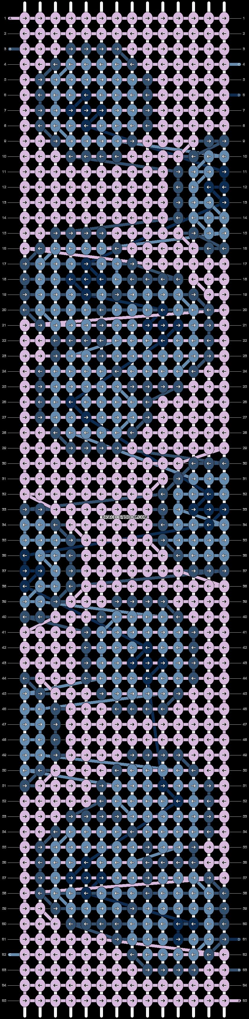 Alpha pattern #53307 pattern