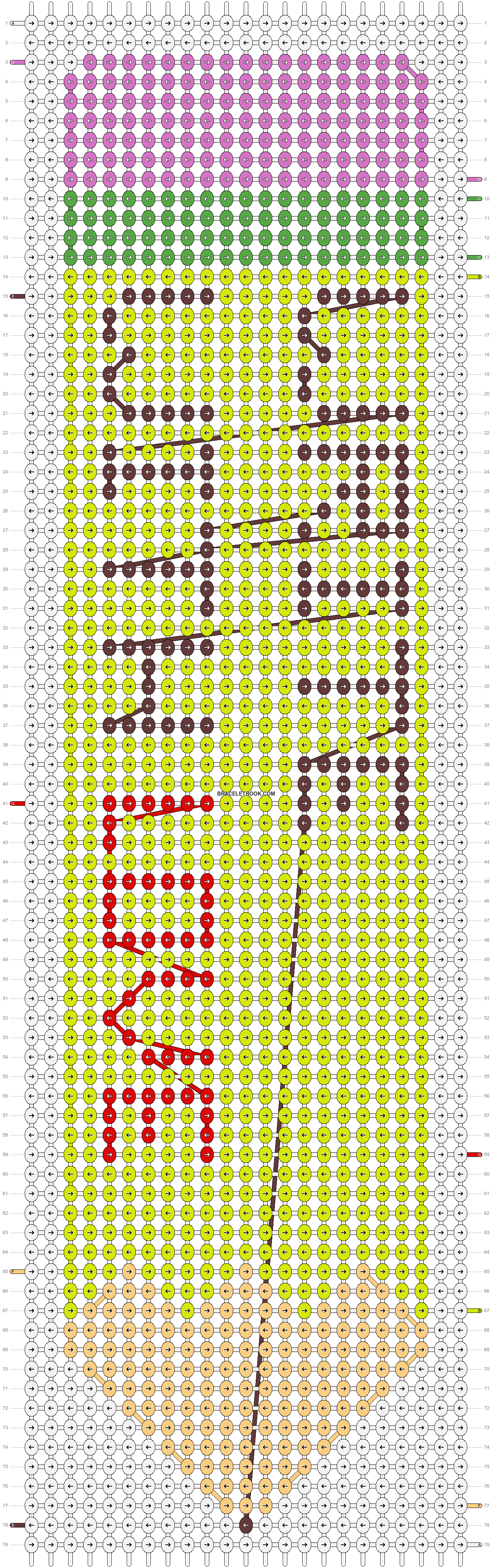 Alpha pattern #53322 pattern