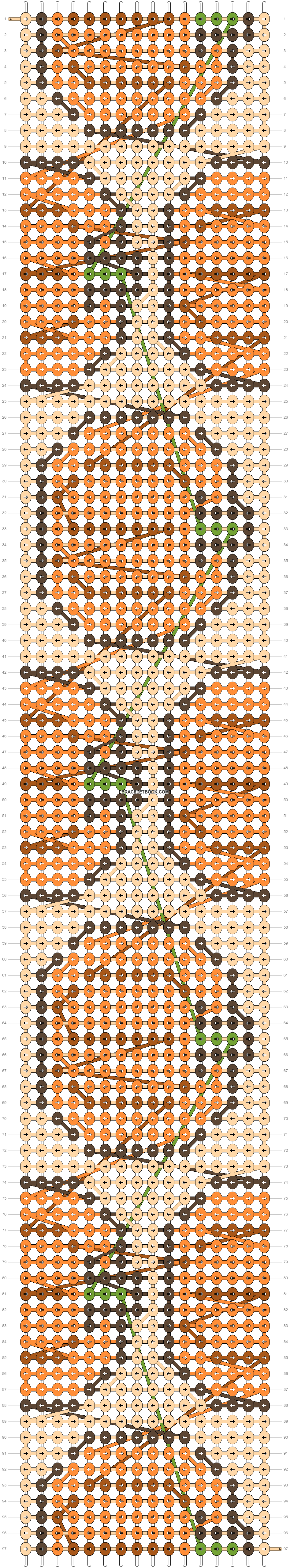 Alpha pattern #53332 pattern