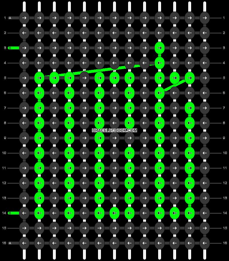 Alpha pattern #53353 pattern