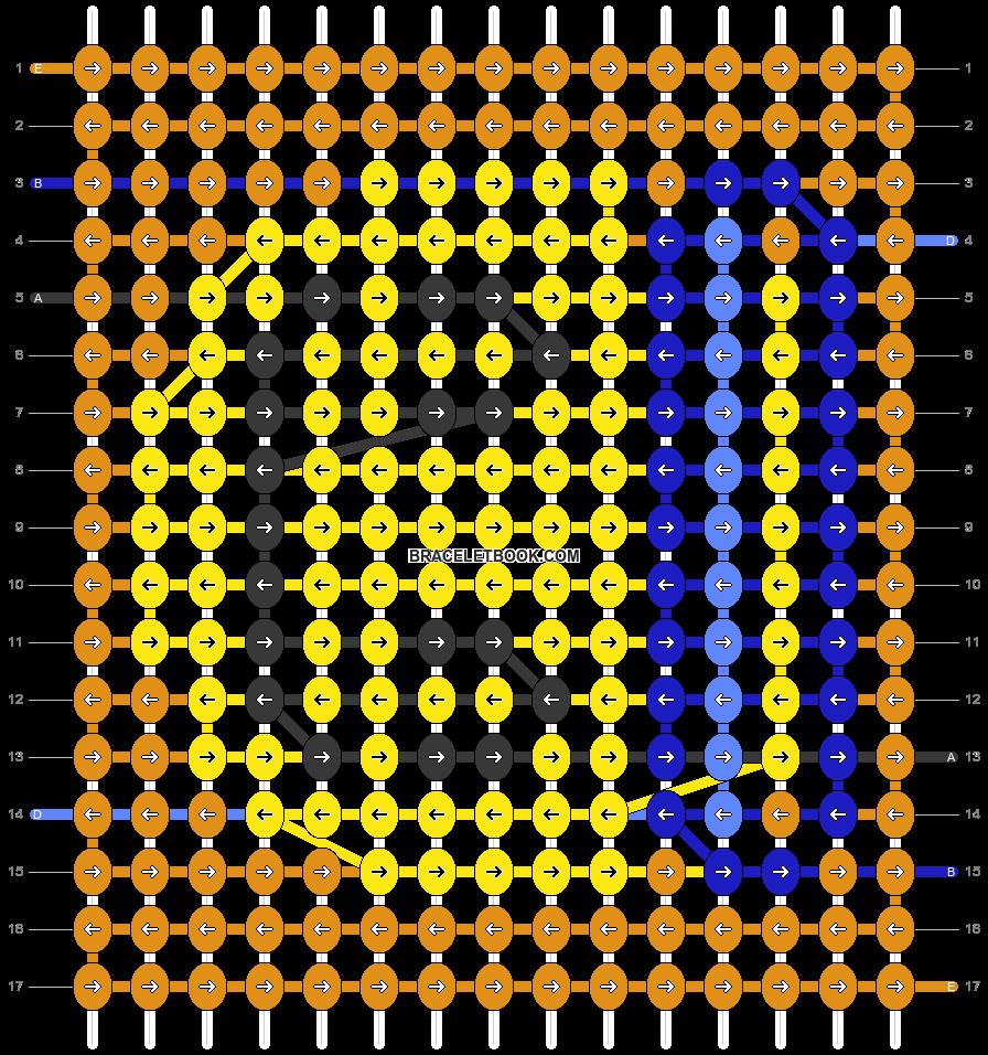 Alpha pattern #53354 pattern