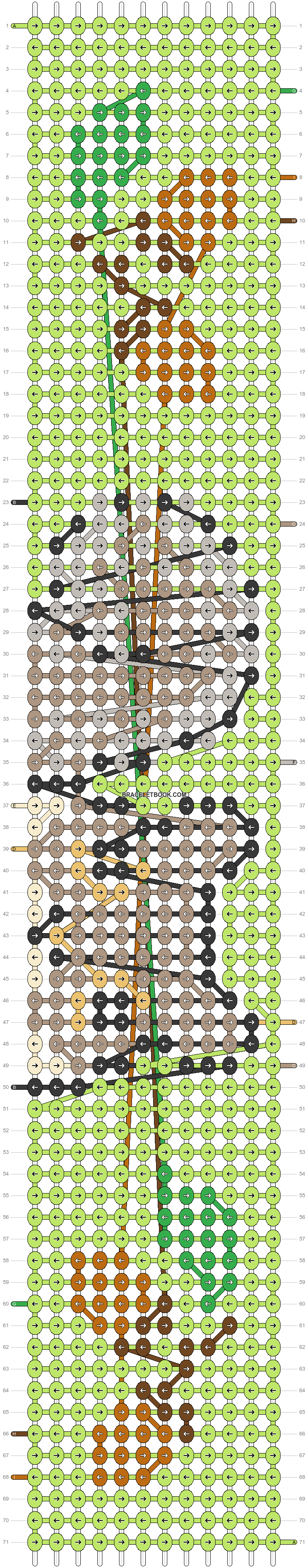 Alpha pattern #53372 pattern