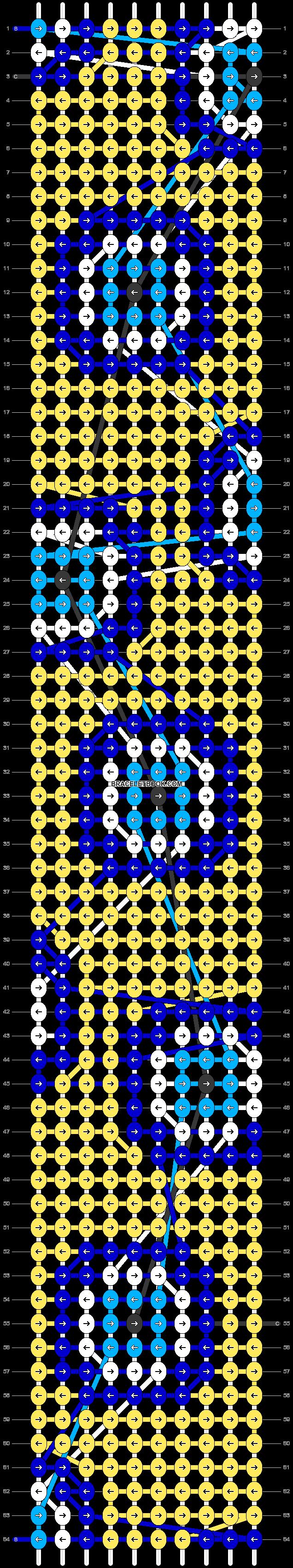 Alpha pattern #53402 pattern