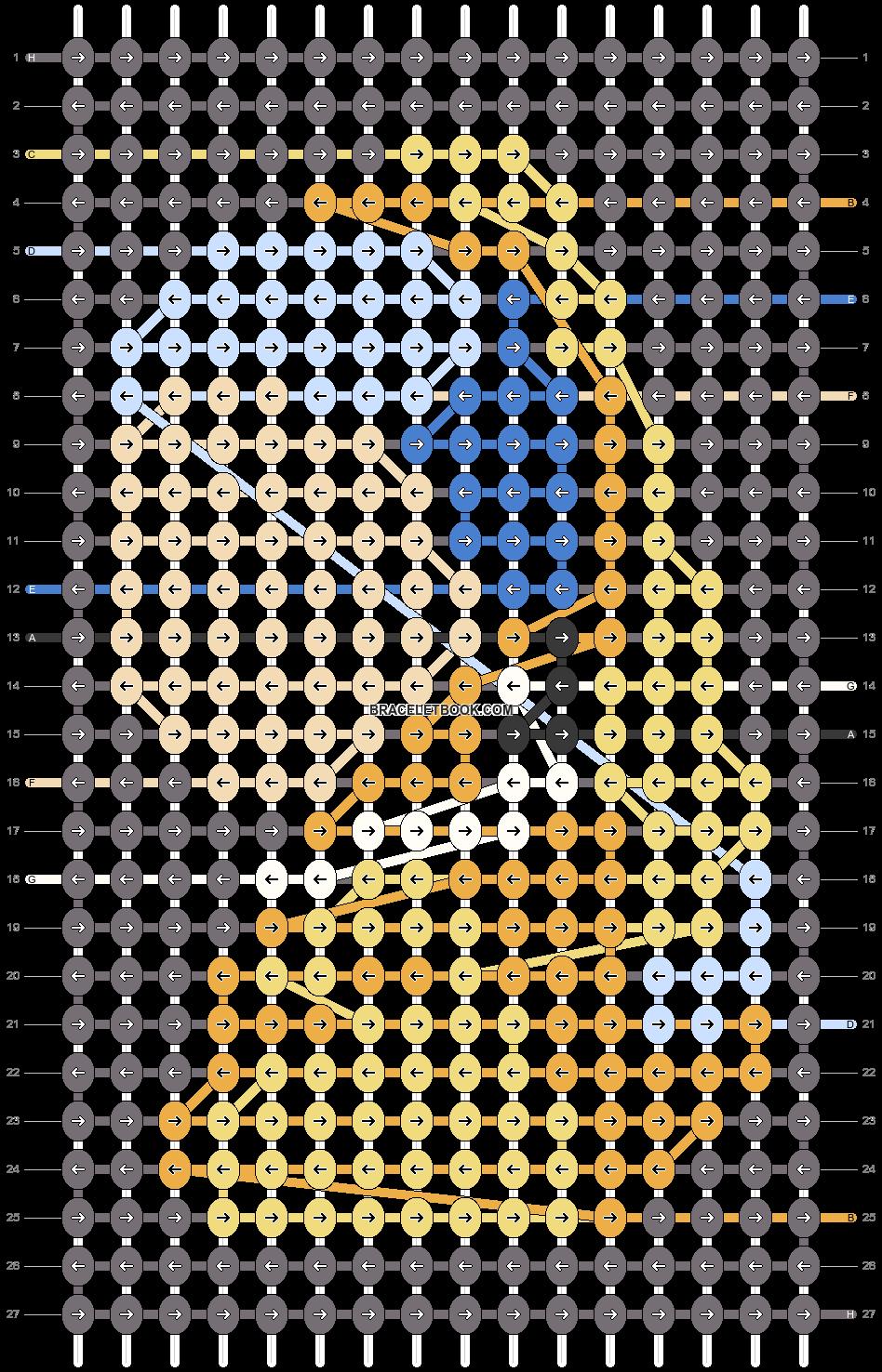 Alpha pattern #53405 pattern