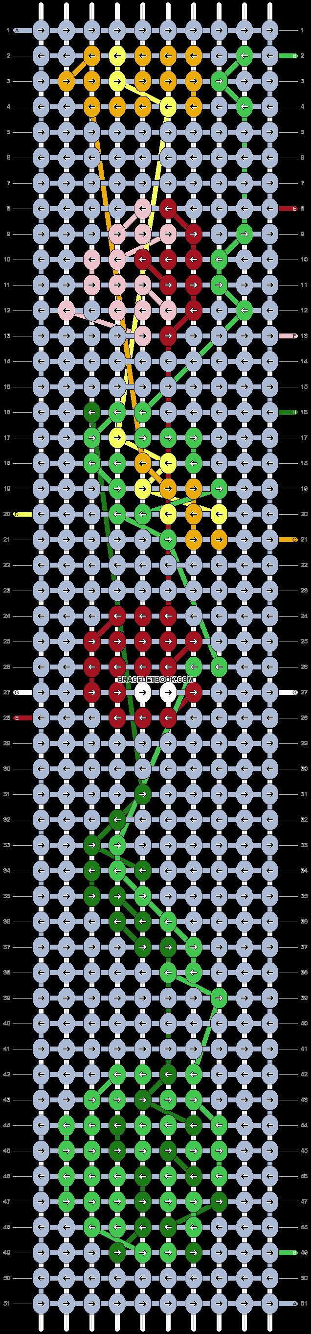 Alpha pattern #53410 pattern