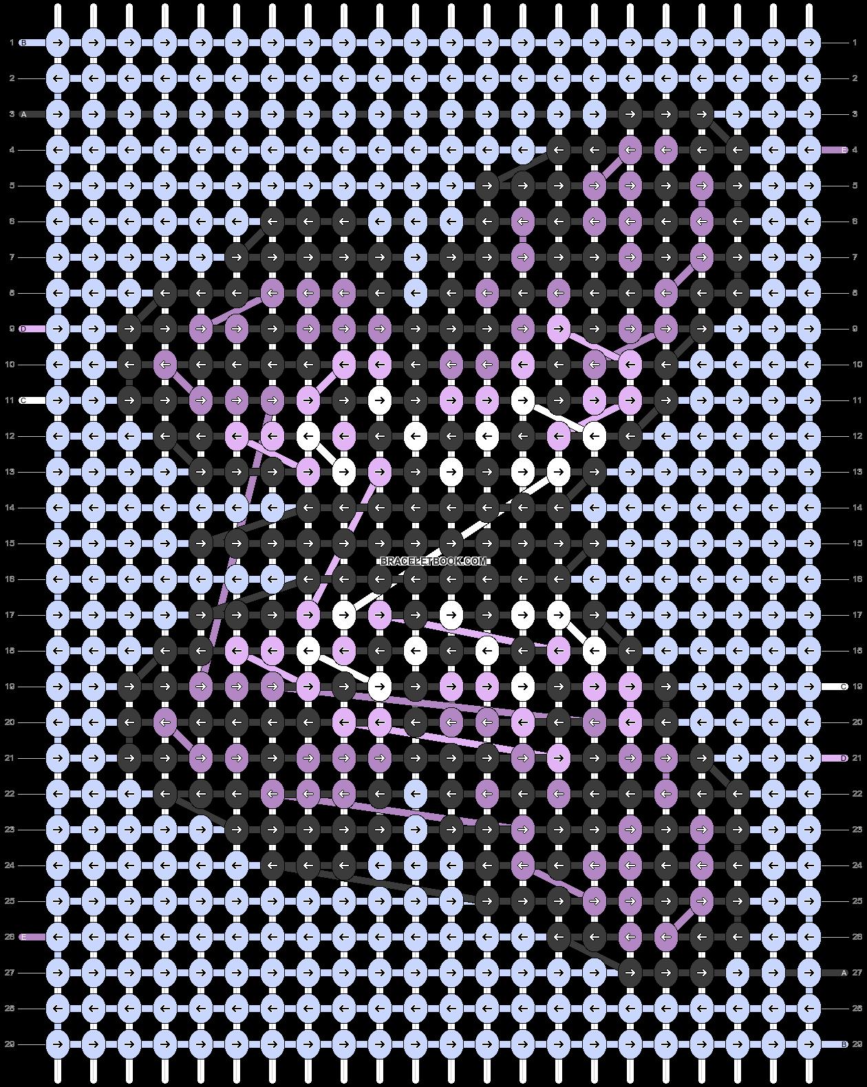 Alpha pattern #53438 pattern