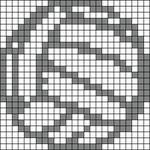 Alpha pattern #53461
