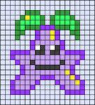 Alpha pattern #53463