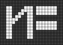 Alpha pattern #53475