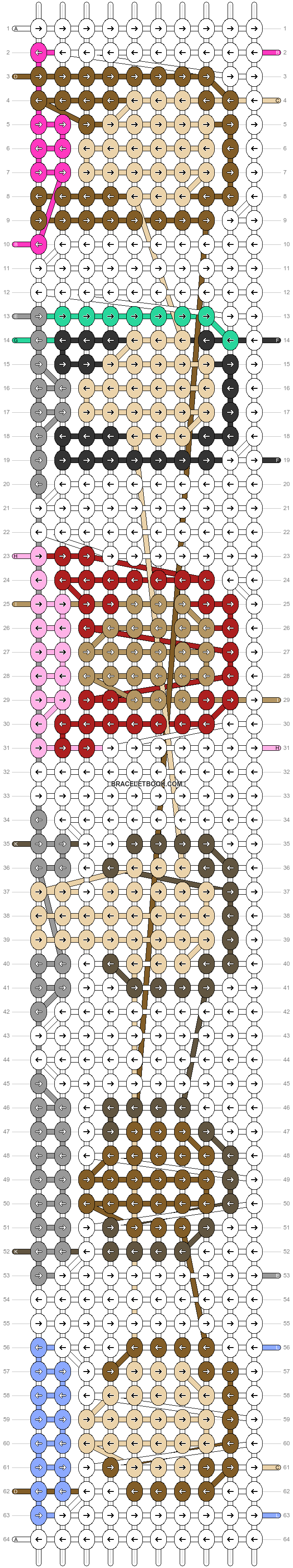 Alpha pattern #53486 pattern