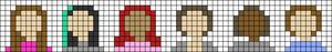 Alpha pattern #53486