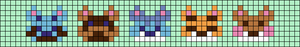 Alpha pattern #53498