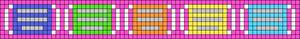 Alpha pattern #53532