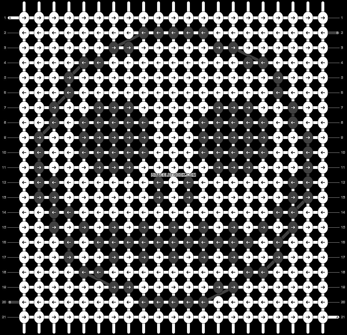 Alpha pattern #53549 pattern