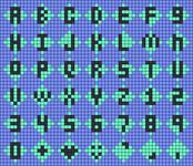 Alpha pattern #53555