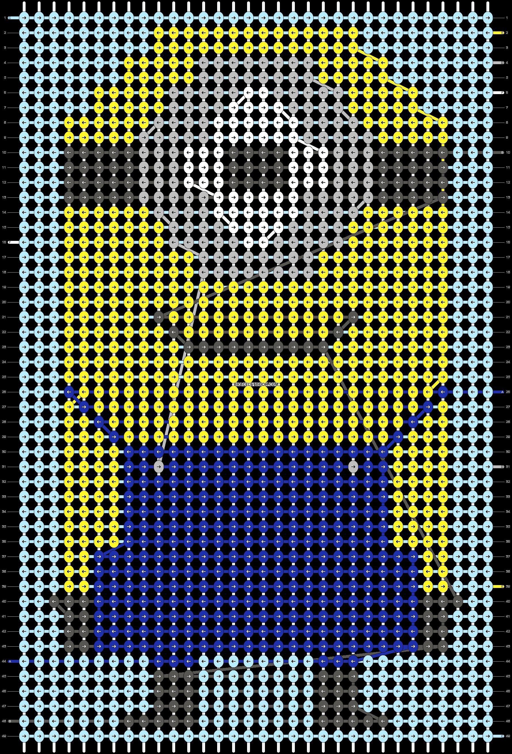 Alpha pattern #53572 pattern