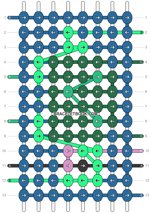 Alpha pattern #53584 pattern