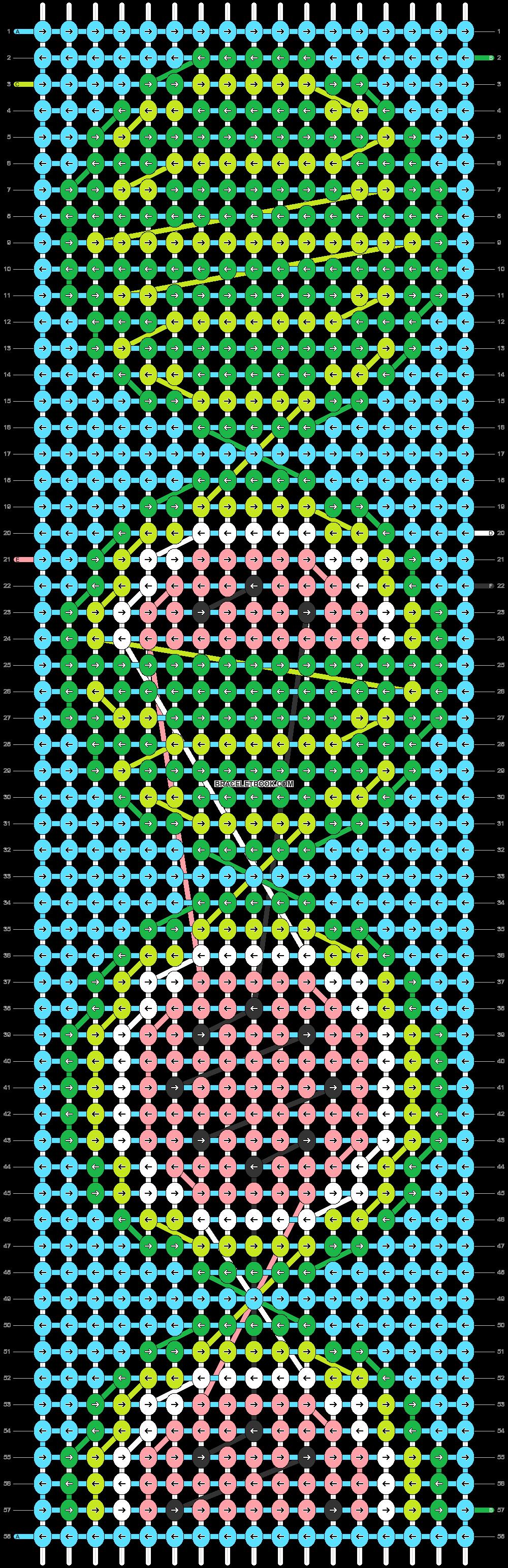 Alpha pattern #53596 pattern