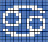 Alpha pattern #53618