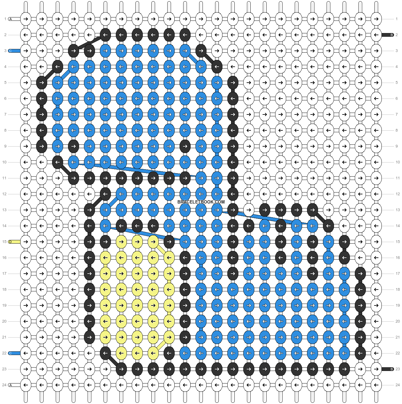 Alpha pattern #53628 pattern