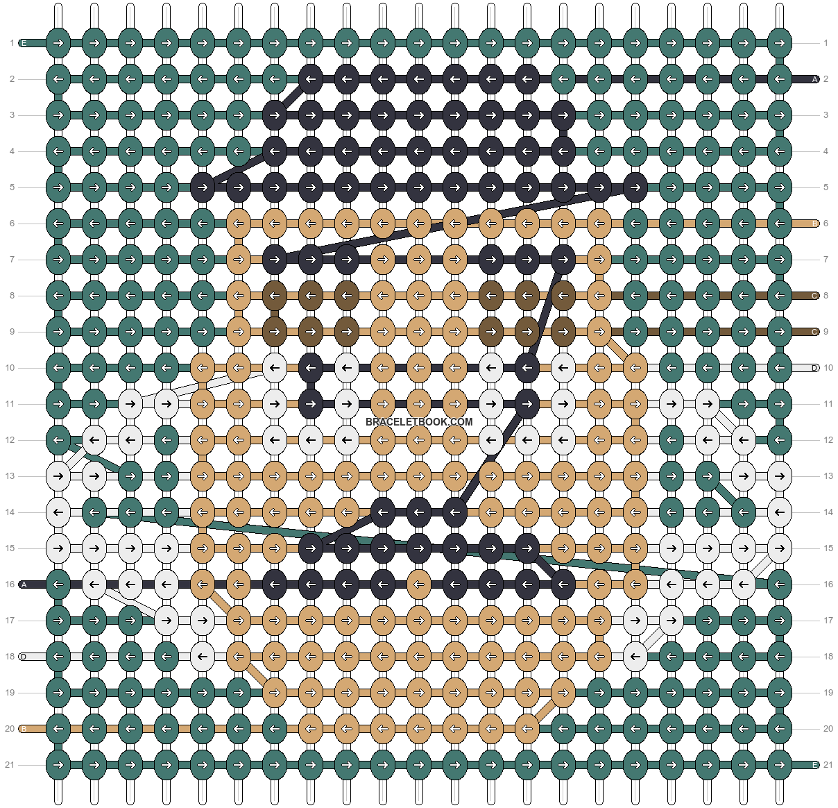 Alpha pattern #53647 pattern