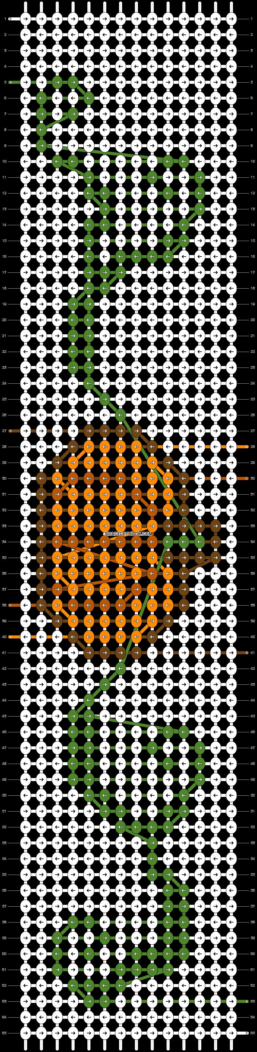 Alpha pattern #53654 pattern