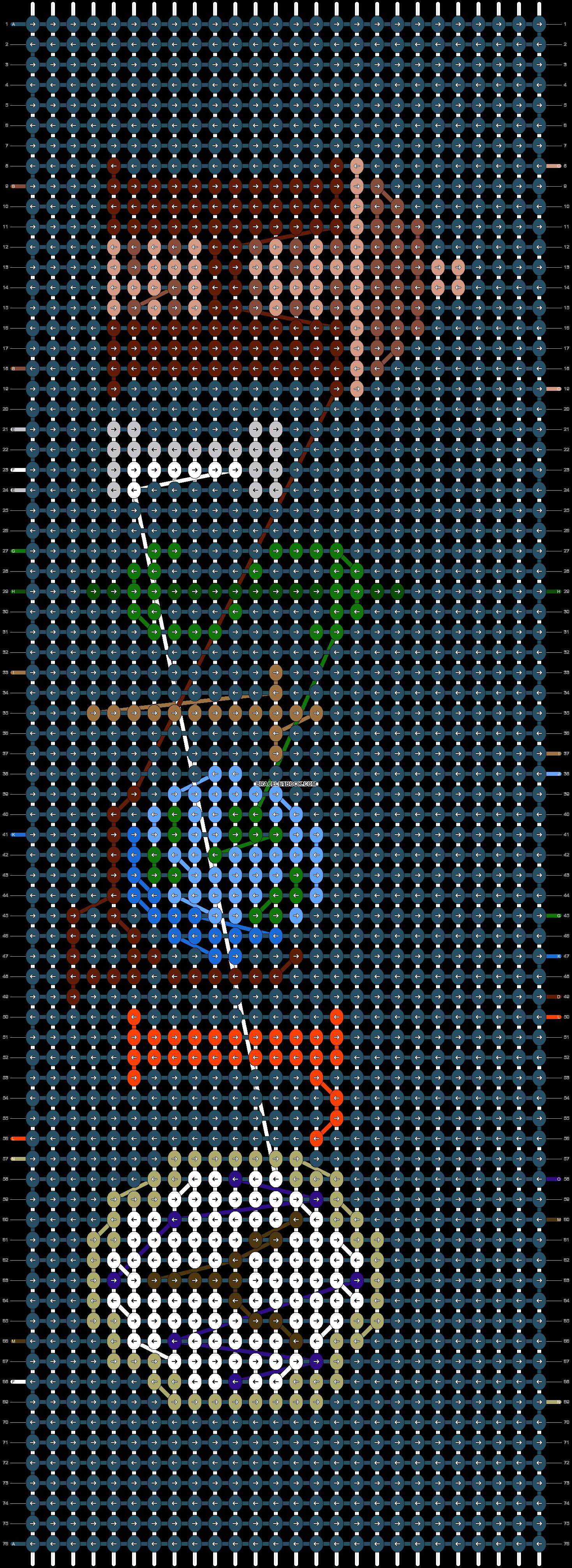 Alpha pattern #53658 pattern