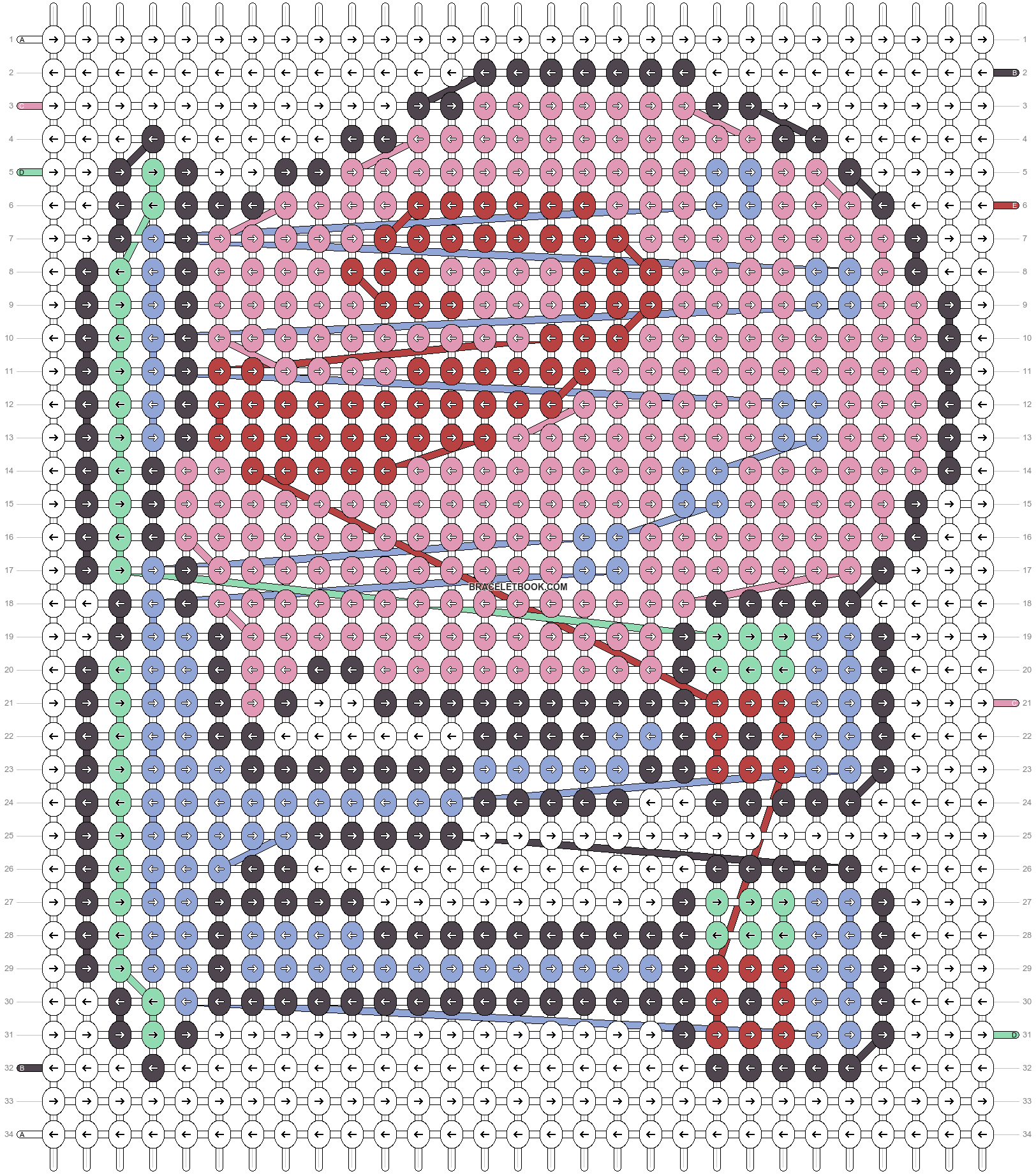 Alpha pattern #53678 pattern