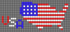Alpha pattern #53693