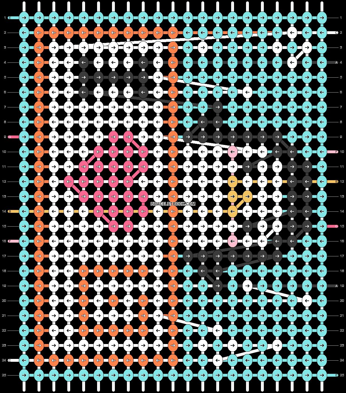 Alpha pattern #53694 pattern