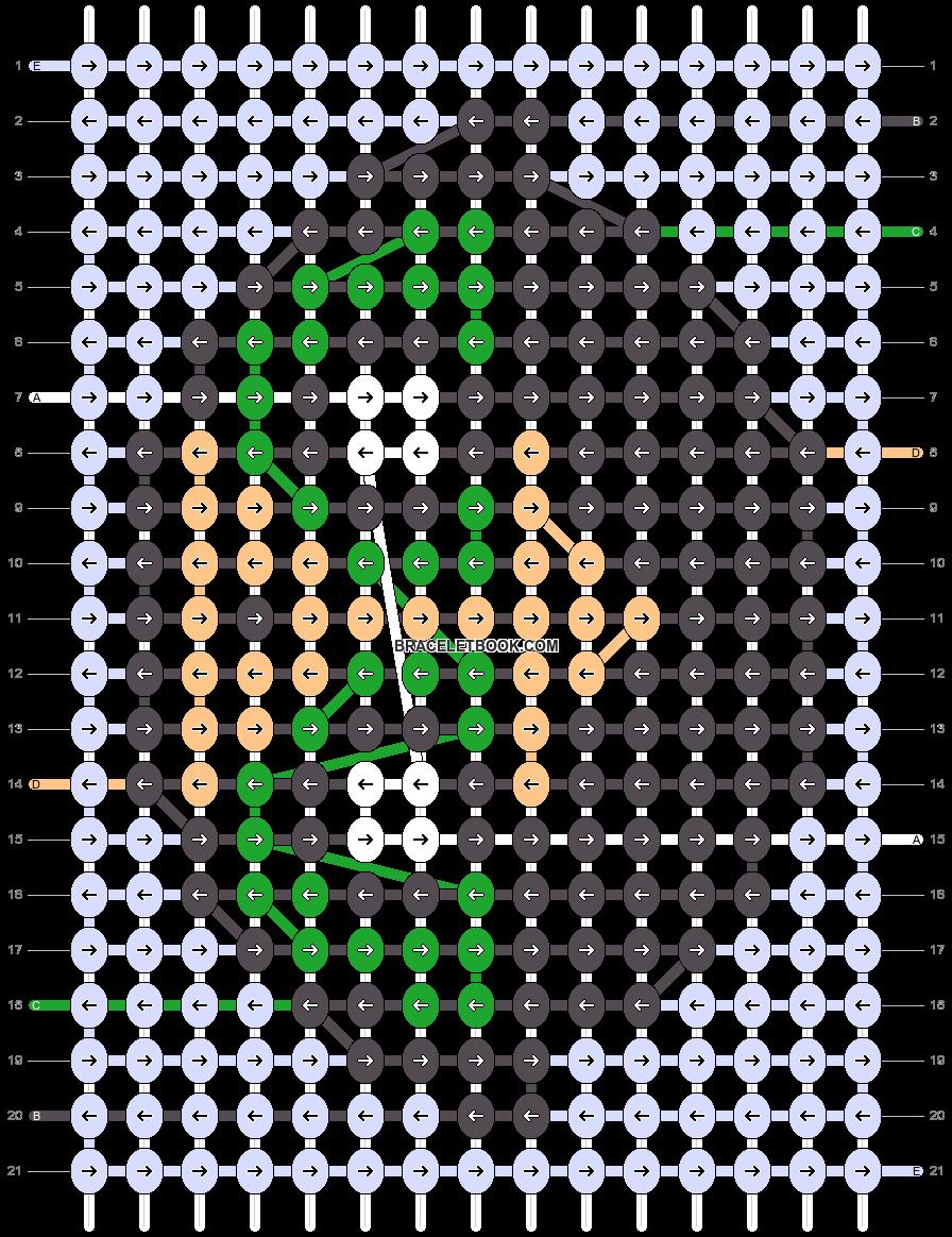Alpha pattern #53709 pattern